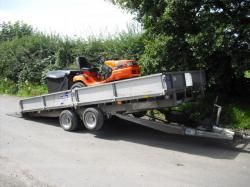 Sit Ride Mower Delivery Collection